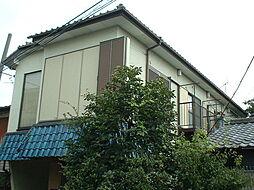 東京都中野区上鷺宮の賃貸アパートの外観