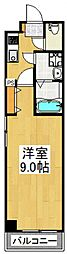 ドミール所沢V[601号室号室]の間取り