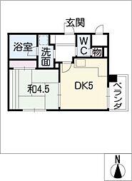 アールコート泉[2階]の間取り