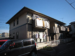 愛媛県松山市森松町の賃貸アパートの外観