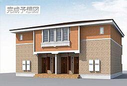 愛知県弥富市五明1の賃貸アパートの外観