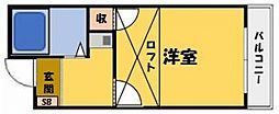 グリーンコートKAWADA[2階]の間取り