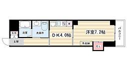 仮称)西院平町新築マンション[4階]の間取り
