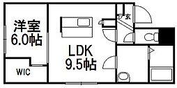 E−horizon宮の沢[3階]の間取り