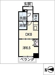 MEIBOU TESERA[9階]の間取り
