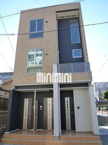 愛知県名古屋市千種区北千種2丁目の賃貸アパートの外観