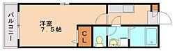 レカーレヒュース[2階]の間取り