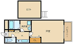 セジュールシャトレー(B棟)[2階]の間取り