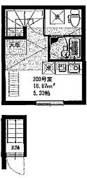 インベスト羽田11 bt[-203号室]の間取り