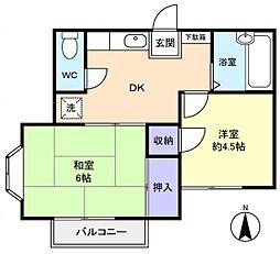 メゾンド・イトーII[2階]の間取り