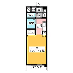 creador・大崎[3階]の間取り