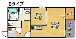 Dreamin[1階]の間取り