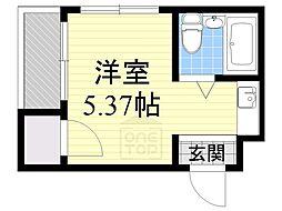 collection城北2[4階]の間取り