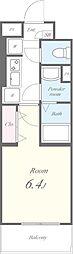 View Terrace II(ビューテラスツー)[402号室]の間取り