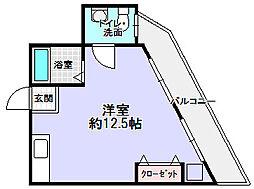 アムール2[2階]の間取り
