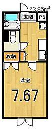 Ds LYRA[4階]の間取り