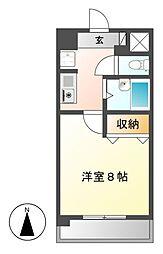 MJ千春[3階]の間取り