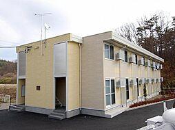 長野県上田市下之郷の賃貸アパートの外観
