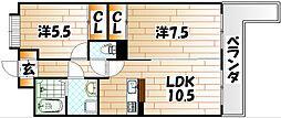LEON篠崎[3階]の間取り