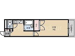 レインボー山崎[5階]の間取り