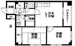 堂ヶ芝壱番館[7階]の間取り
