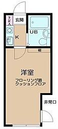 東京都板橋区東新町1の賃貸マンションの間取り
