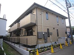 東京都三鷹市大沢4丁目の賃貸アパートの外観