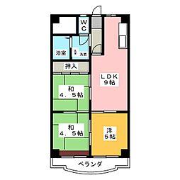 Youme(遊夢)II[3階]の間取り