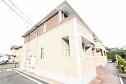 広島県福山市加茂町大字八軒屋の賃貸アパートの外観