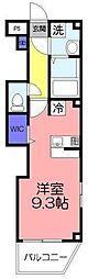ツリーデン松戸III[3階]の間取り