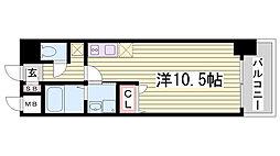 willDo三宮East[2階]の間取り