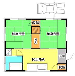 [一戸建] 埼玉県狭山市富士見1丁目 の賃貸【/】の間取り