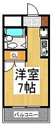 プロスパー久米川[1階]の間取り