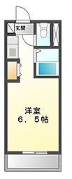 ドミールスズキ津田沼[1階]の間取り