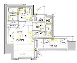 セジョリ横浜ウエスト[5階]の間取り