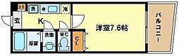 KWレジデンス阿波座[5階]の間取り