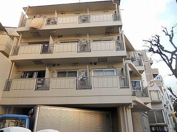 東京都中野区大和町1丁目の賃貸マンションの外観