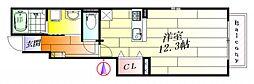 ハミング バード[1階]の間取り