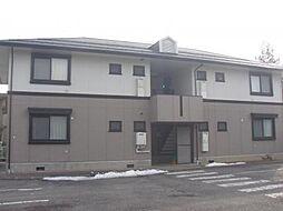 長野県松本市横田1丁目の賃貸アパートの外観