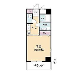 幸田マンション幸町(旧:アルティス幸町)[0401号室]の間取り