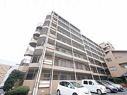 岡山県岡山市中区関の賃貸マンションの外観