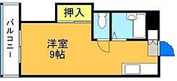 愛宕ハイムA棟[201号室]の間取り