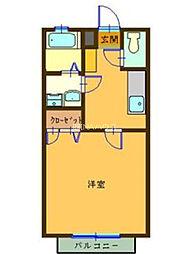 埼玉県北足立郡伊奈町大針の賃貸アパートの間取り