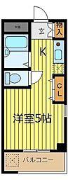 埼玉県志木市中宗岡4丁目の賃貸マンションの間取り
