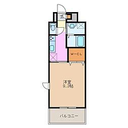 ファーストステージU[2階]の間取り