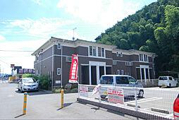 福岡県北九州市小倉南区蒲生2丁目の賃貸アパートの外観