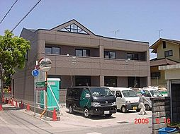 兵庫県加古郡播磨町北野添3丁目の賃貸アパートの外観