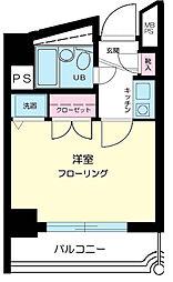 東京都大田区大森本町1丁目の賃貸マンションの間取り