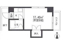 コツカビル[2階]の間取り