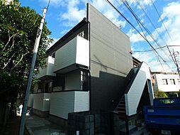 千葉県松戸市南花島4の賃貸アパートの外観